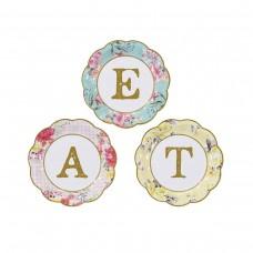 Truly Scrumptious EAT Dessert Plates