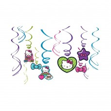Hello Kitty Hanging Swirls