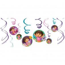 Dora Hanging Swirls