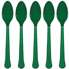 Forest Green Spoons
