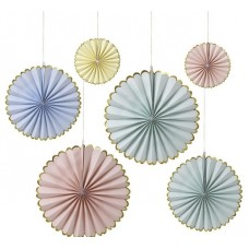 Pastel Pinwheels Decoration 2