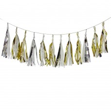 Gold and Silver Tassels