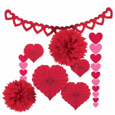 Valentine Paper Decorating Kit