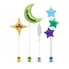 Eid Mubarak Balloons Set 6
