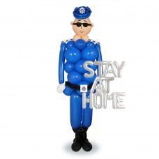 Police Sculpture Balloon