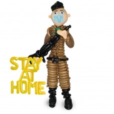 Soldier Sculpture Balloon
