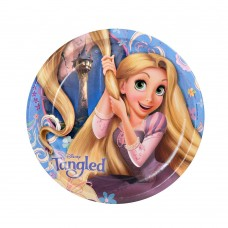 """Disney Tangled 9"""" Party Plates"""