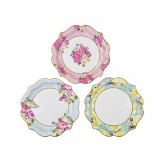 Truly Scrumptious Floral Party Plates