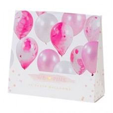 Marble Balloons Pink
