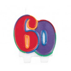 Number 60 Molded Flat