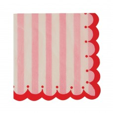 Pink & Red Small Napkins