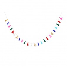 Multi-Color Mini Tassel