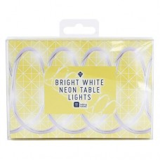 Party Time Bright White Neon Table Lights