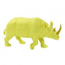 Fluorescent Floral Neon Rhino