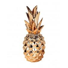 Metallic Pineapple Ornament