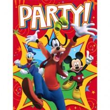 Mickey Mouse Fun & Friends Invitation