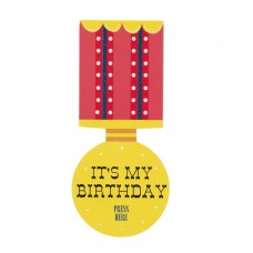 Magic Medal Birthday Badge