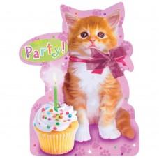 Cuddly Kitten Invitations