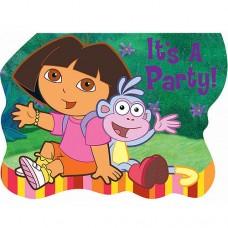 Dora & Friends Invitations