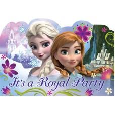 Frozen Postcard Invitation