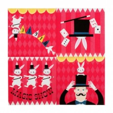 Magic Party Lunch Napkins