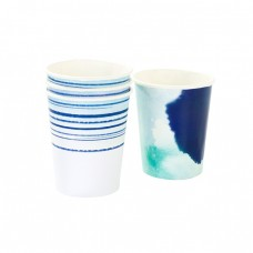 Blue Coastal Cups