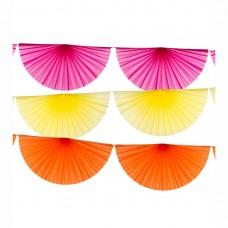 Summer Fiesta Fan Garlands