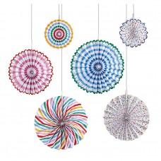 Multi Color Pinwheels