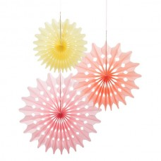 Fan Sorbet Decorations