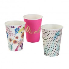 Fluorescent Floral Cups