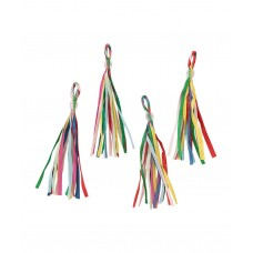 Multi Colored Party Tassels