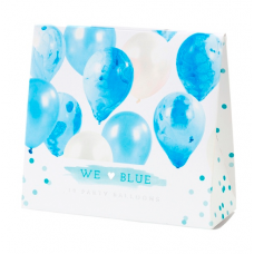 Marble Balloons Blue