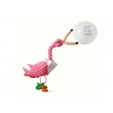 Get Well Flamingo