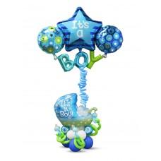Baby Boy Blue Star
